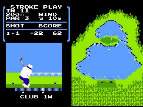【ゆっくり実況】 ファミコン 『ゴルフ』…