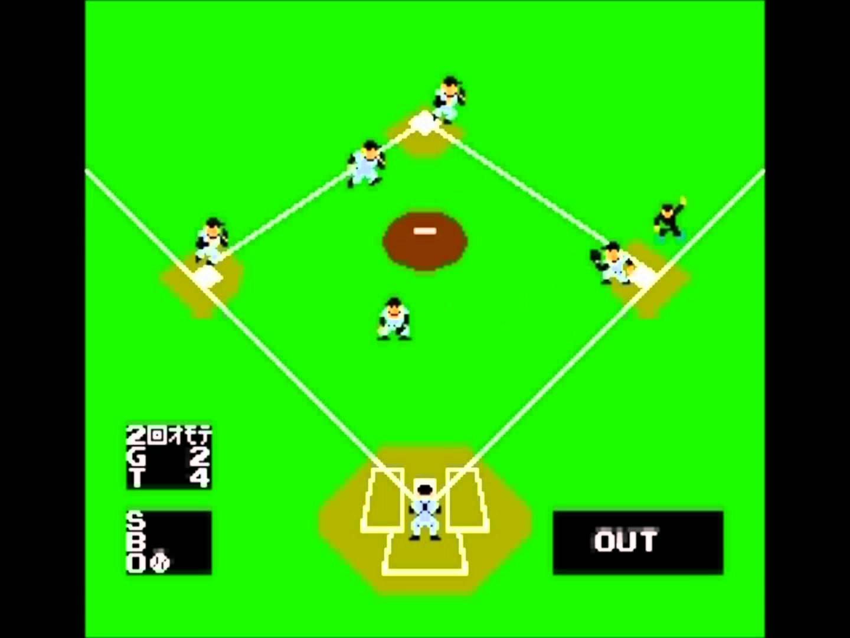 ファミコン ベースボール Basebal…