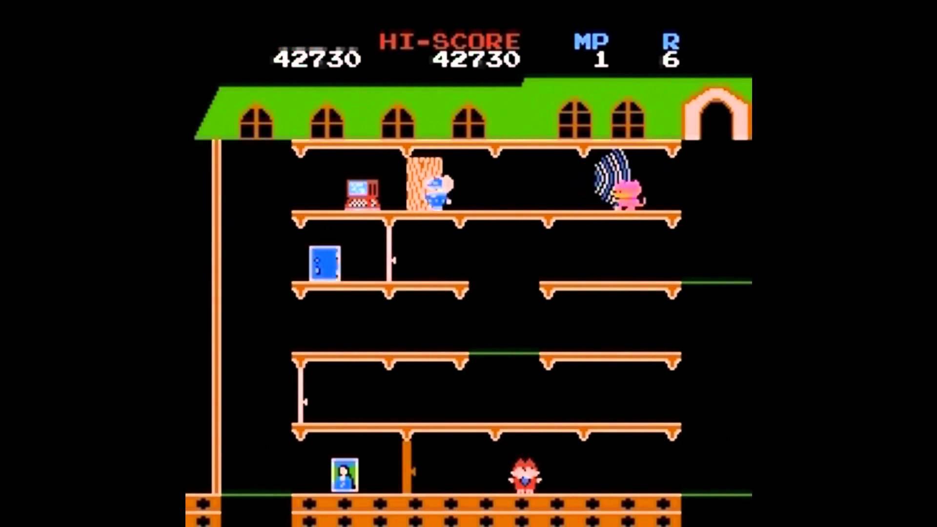 ファミコン マッピー NES Mappy