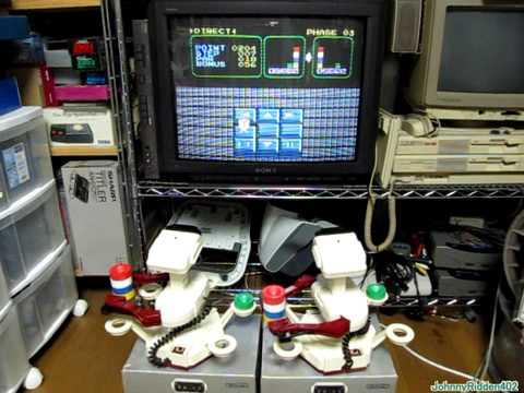 ファミコン ロボット ブロックで仲良くシ…