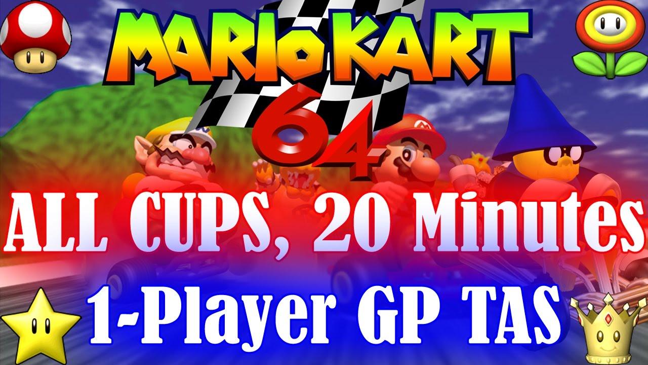 [TAS] Mario Kart 64 …
